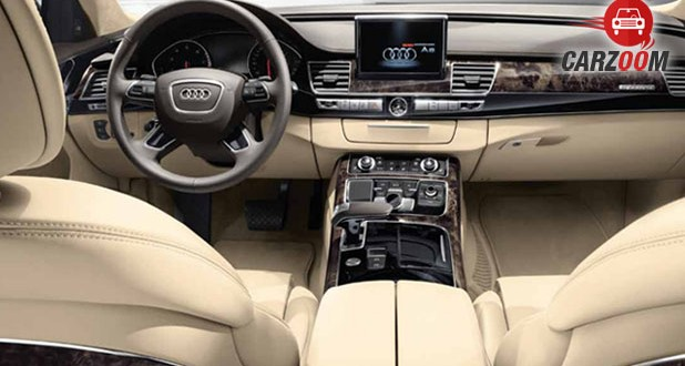 Audi A8 L Security Interior View