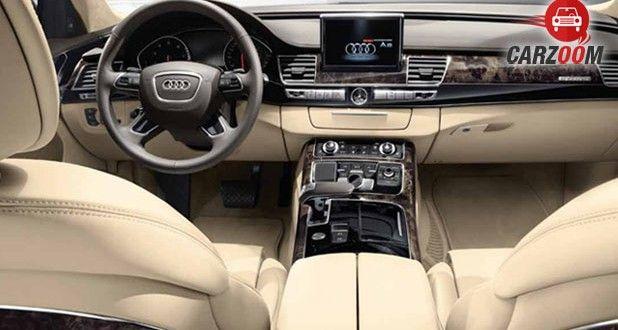 Audi A8 L Security Interior View