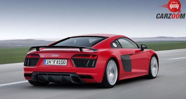 Audi R8 V10 Plus Back