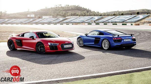Audi R8 V10 Plus Side View