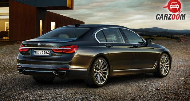 New BMW 7 Series Back