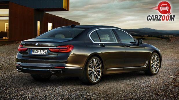 New BMW 7 Series Back