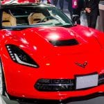 Chevrolet Corvette Stingray Front