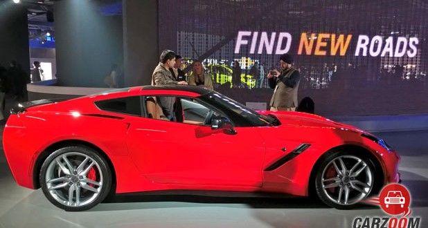 Chevrolet Corvette Stingray Side