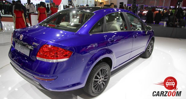 Fiat Linea 125s Back