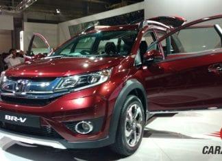 Honda BR-V Front