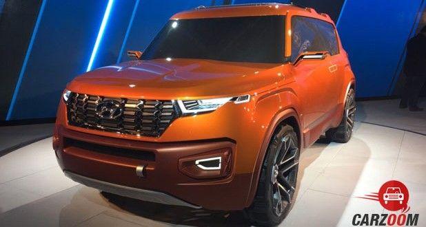 Hyundai Carleno Front View