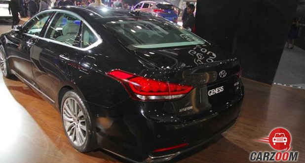 Hyundai Genesis Back