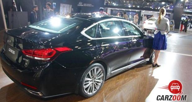 Hyundai Genesis Side View
