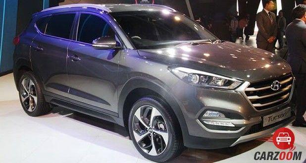 2016 Hyundai Tucson Front View