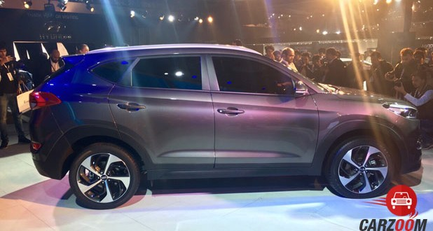 2016 Hyundai Tucson Side View
