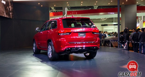 Jeep Grand Cherokee SRT Back View