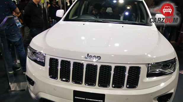 Auto Expo 2016: Jeep Grand Cherokee