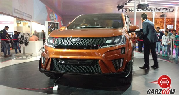 Mahindra XUV Aero Concept Front