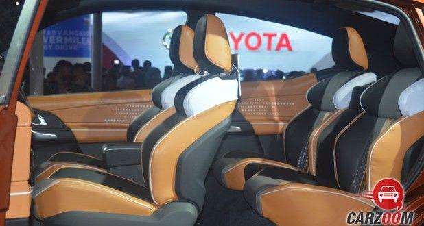 Mahindra XUV Aero Concept Seats