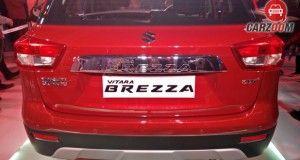 Maruti Suzuki Brezza Vitara Back