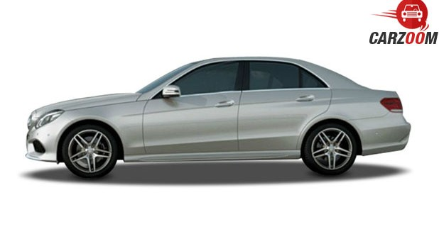 Mercedes-Benz E-Class 'Edition E' Side View