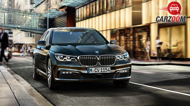 New BMW 7 Series Front View