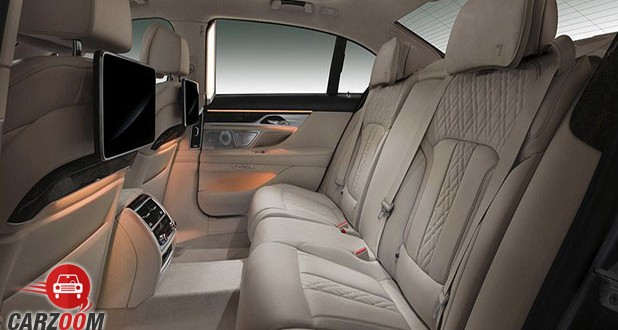 New BMW 7 Series Seats