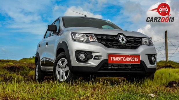 Renault Kwid 1.0 AMT Front