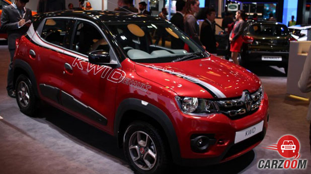 Renault Kwid 1.0L AMT View