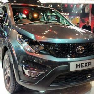 Tata Hexa Front View