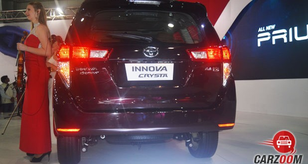 Toyota Innova Crysta Back