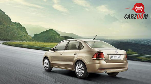 Volkswagen New Vento Back