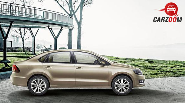 Volkswagen New Vento Side
