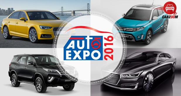 Auto Expo 2016 – Expected Cars