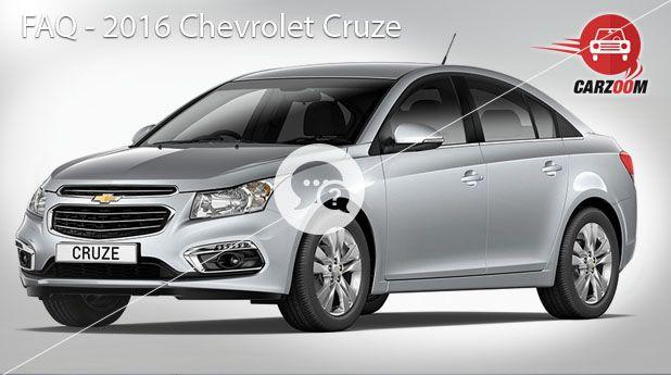 2016 Chevrolet Cruze FAQ