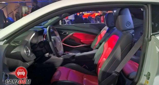 Chevrolet Camaro Interior View