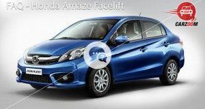 FAQ Honda Amaze Facelift