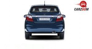 Honda Amaze Facelift Back View