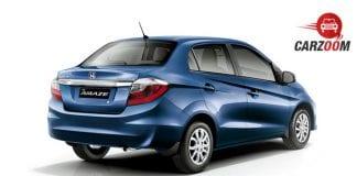 Honda Amaze Facelift Exterior View