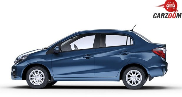 Honda Amaze Facelift Side View