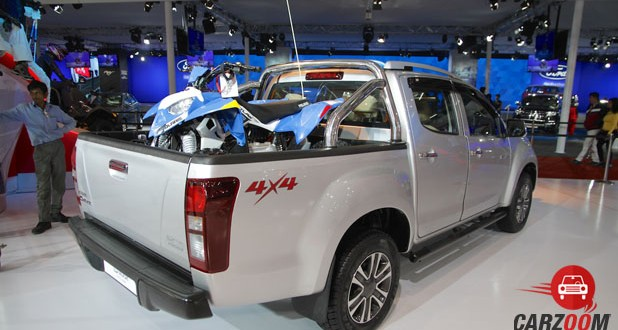 Isuzu D Max V-Cross Back View