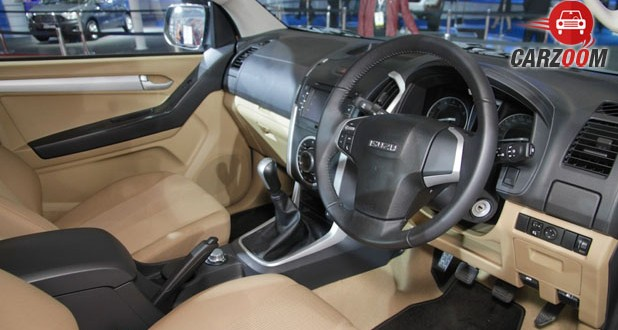 Isuzu D Max V-Cross Interior