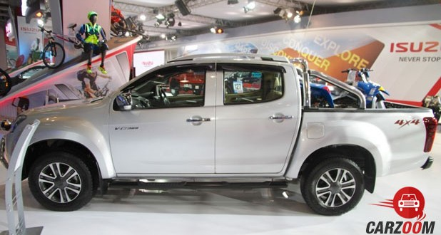 Isuzu D Max V-Cross Side View