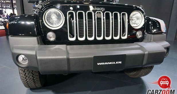 Jeep Wrangler Unlimited Front View
