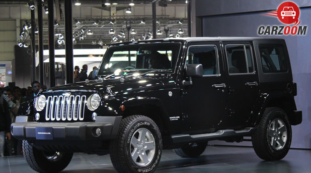 Jeep Wrangler Unlimited Side View
