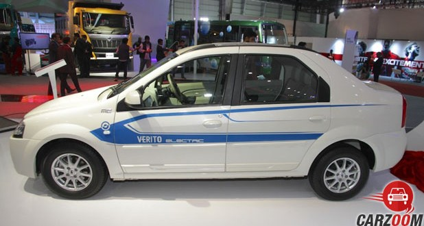 Mahindra E-Verito Side View