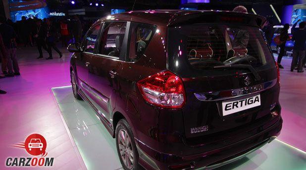 Maruti Ertiga Limited Edition Back
