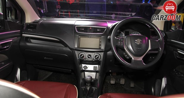 Maruti Ertiga Limited Edition Dashboard View