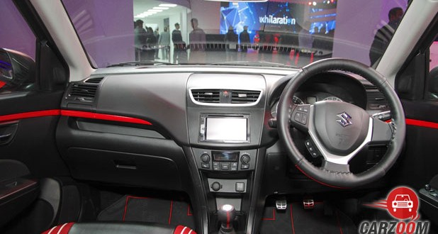 Maruti Swift Limited Edition Dashboard