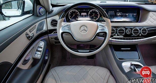 Mercedes-Benz Maybach S600 Guard Dashboard