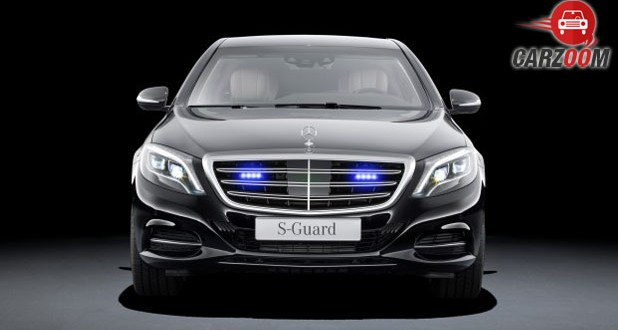 Mercedes-Benz Maybach S600 Guard Front
