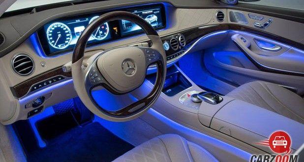 Mercedes-Benz Maybach S600 Guard Interior