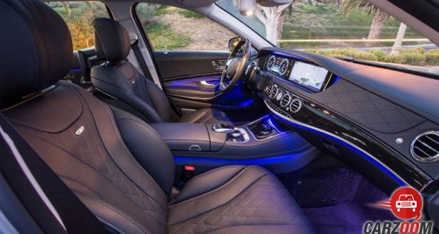 Mercedes-Benz Maybach S600 Guard Seats