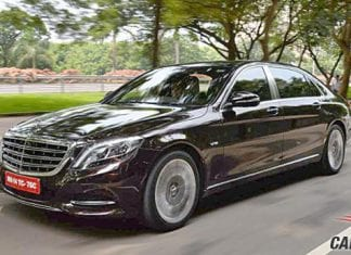 Mercedes-Benz Maybach S600 Guard View